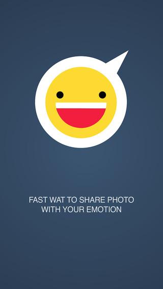 Emoto - Quick Photo Sharing with Emoji