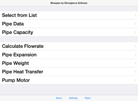 Blowpipe HVAC Lite iPad Screenshot 1