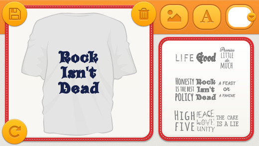 T-Shirt Editor Adv