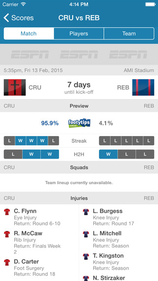 Super Rugby Live Scores - Rugby Now
