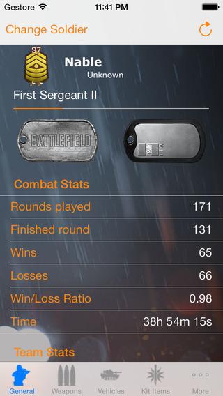 my Soldier for Battlefield 4
