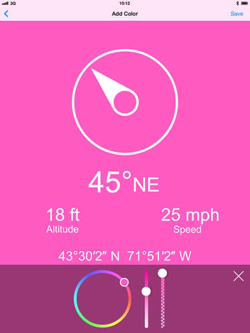 Compass Zen PRO - Minimalist compass with altimeter, speedometer, and more Screenshots