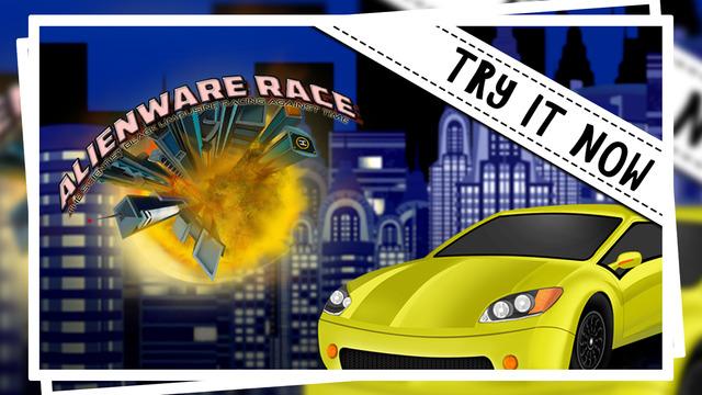 Alienware Race : The Scientist Black Limousine Racing Against Time