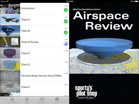 Airspace Review iPad Screenshot 1