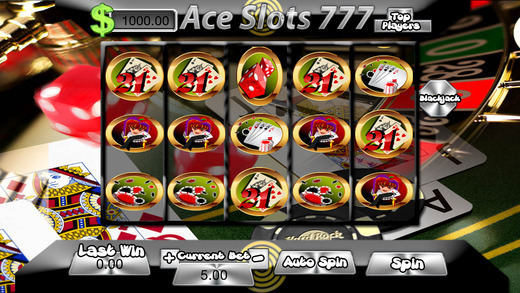 Ace Slots 777-Free Games Casino