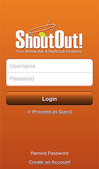 ShoutOut Your Mobile Bar Nightclub Directory