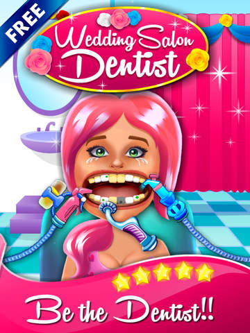 玩免費教育APP|下載Wedding Salon Dentist - doctor's fashion make-over & little kids teeth make-up app不用錢|硬是要APP