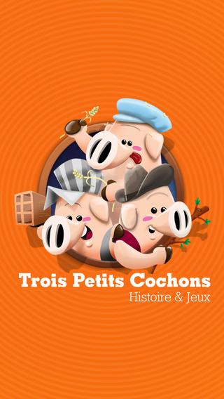 Trois Petits Cochons: Histoire Jeux
