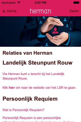Herman Tomesen Uitvaartverzorging BV screenshot 3