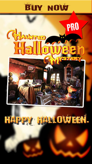 Haunted Halloween Mystery - Hidden Object Mysteries - Pro