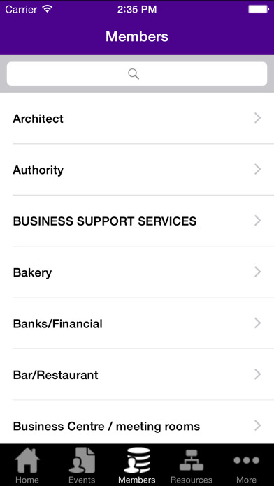 Renfrewshire Chamber of Commerce iPhone Screenshot 5