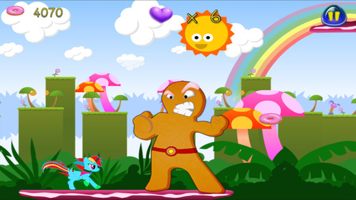 【免費遊戲App】Little Gravity Unicorn Pony Candy World-APP點子