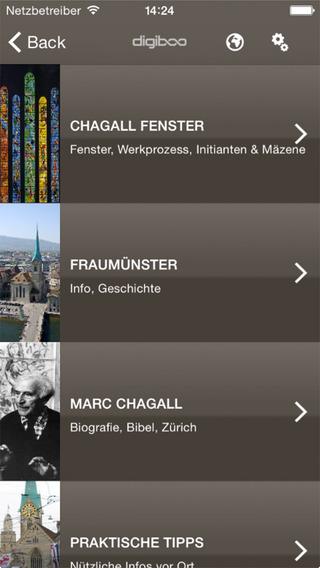 Chagall Zurich