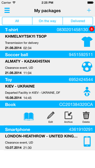 Track your parcel with OhMyDelivery. Simple tracking of all shipments packages and deliveries from o
