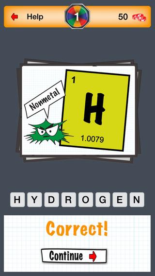 Quizzem: Elements Periodic Table Quiz
