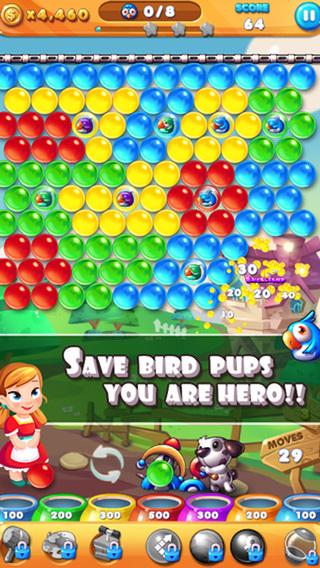 Bubble Shoot - rescue the bird