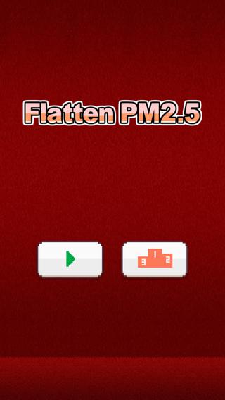 Flatten PM2.5