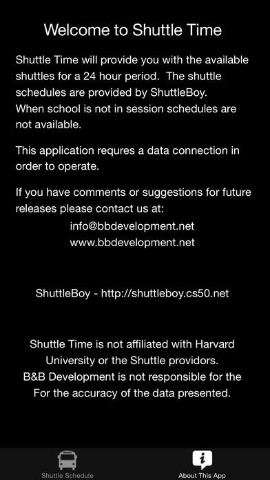 Shuttle Time 2 iPhone Screenshot 5