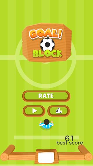 Goal Block - Soccer Goalie Training Simulator