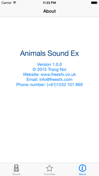 Free Animals Sound Effect from freeSFX UK