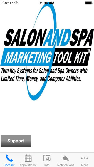 Salon and Spa Marketing Member App