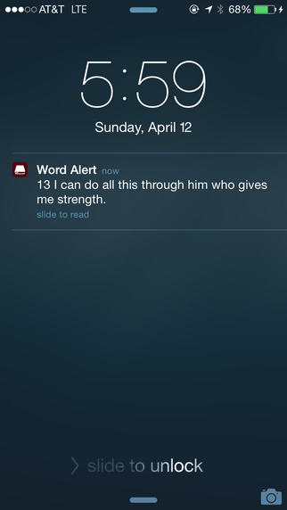 Word Alert: Daily Bible Verses