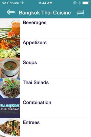 Bangkok Thai Cuisine screenshot 2