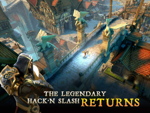 iPad Image of Dungeon Hunter 5