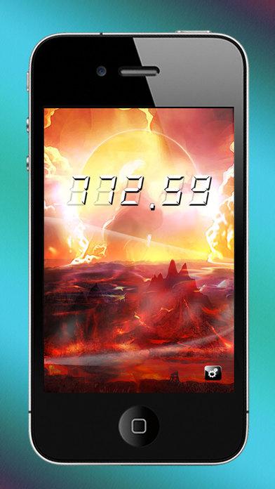 Deci Clock iPhone Screenshot 1