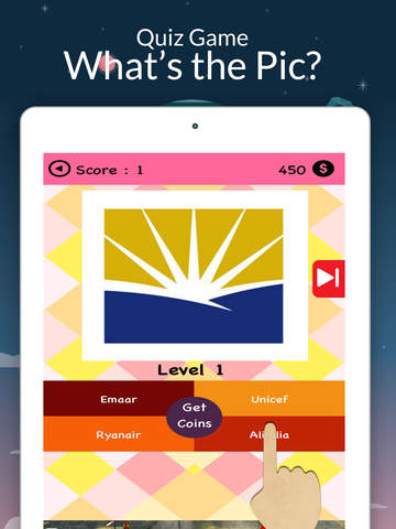 Screenshots of Picture Logo Trivia - Solve puzzles. Guess the brands. Win trophies. for iPad