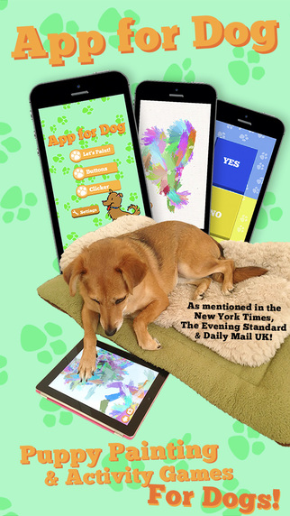 App for Dog FREE - Puppy Painting Button and Clicker Training Activity Games for Dogs