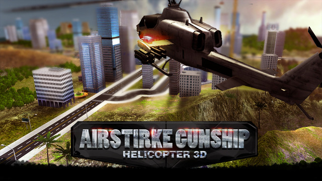 Air Strike Gunship Helicopter Simulator 3D