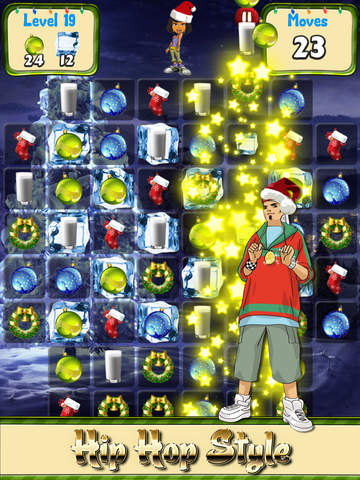 Candy Christmas Countdown! - The puzzle game to play while waiting for presentsscreeshot 3
