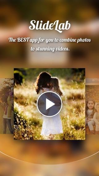 SlideLab for Instagram - Add Music to Photos Make SlideShow Video