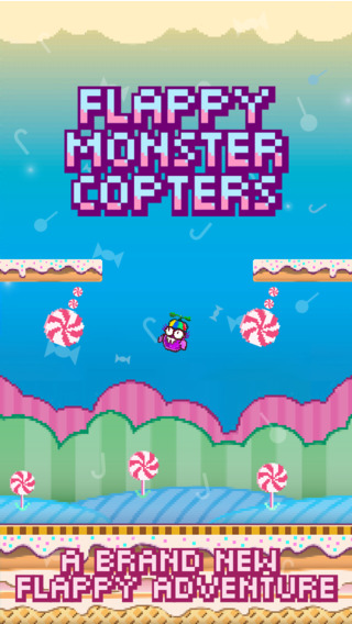 The Awesome Flappy Monster Cool Copters - Fun Addicting Flying Games for Free