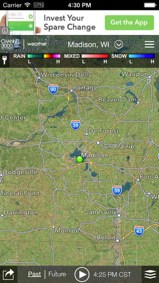 Channel 3000 WISC-TV3 Weather for iOS