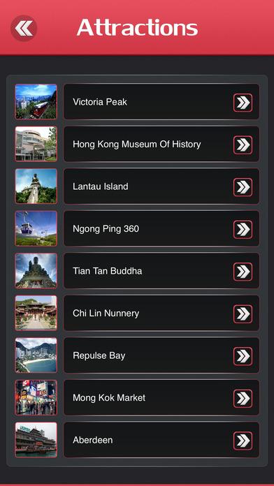 Hong Kong iPhone Screenshot 3
