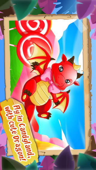 Awesome Candy-land Dragon Escape Free