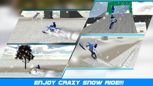 Snow Bike Stunt Simulator 3D