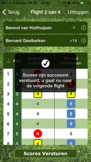 Live Golf Scoring App