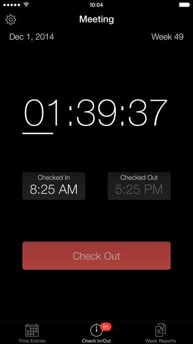 Week Timer iPhone Screenshot 2