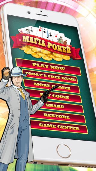 Mafia Poker - Free Casino Card Game