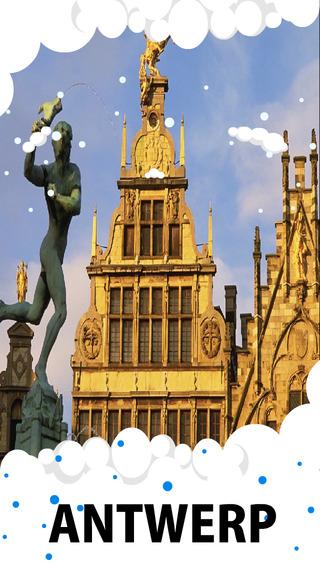 Antwerp Travel Guide - Offline Maps