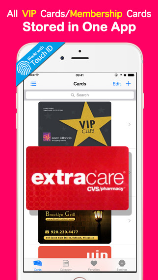 VIP Cards Passbook Manager - Keep membership card er manage loyalty rewards coupons safe