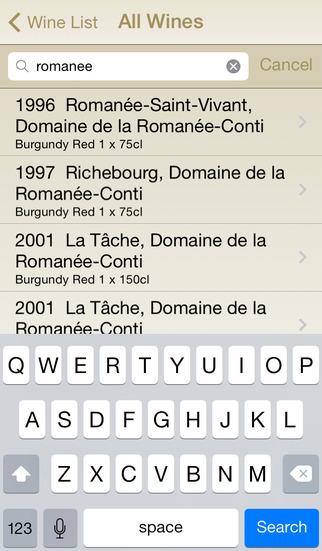 Antique Wine iPhone Screenshot 2