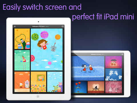 Screenshot 2 Wallpapers HD : New themes and backgrounds