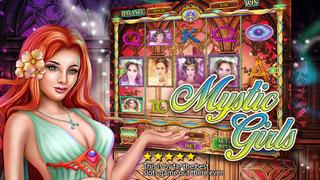 Screenshot 1 Бесплатный Лас-Вегас Слот казино игры — Мистика Девушки Слот
