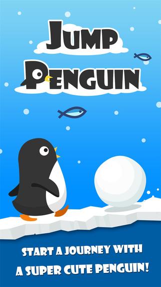 Jump Penguin - Jumping Goo Lost Within Dark Sky