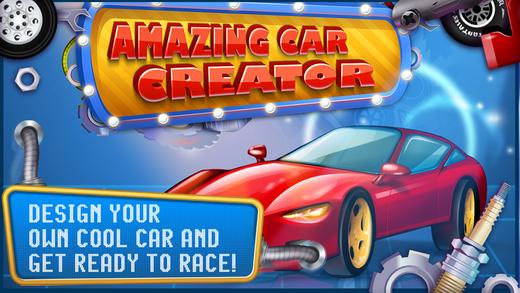 Amazing Car Creator - Design your Vehicle
