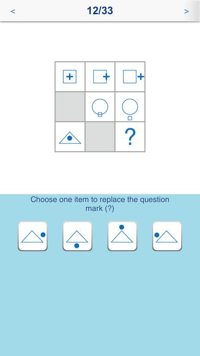 IQ Test FREE iPhone Screenshot 3